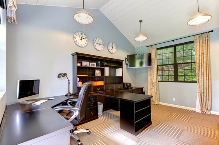 home office flooring. Home Offices \u2013 Carpet Vs. Hardwood Office Flooring